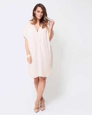 Embody Denim – Bahama Dress – Dresses (Shell Pink)