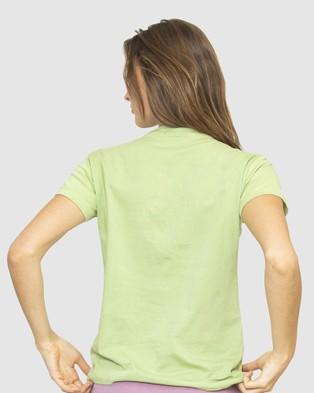 NICO Plant Dyed Organic Cotton Tee - T-Shirts & Singlets (Sage)