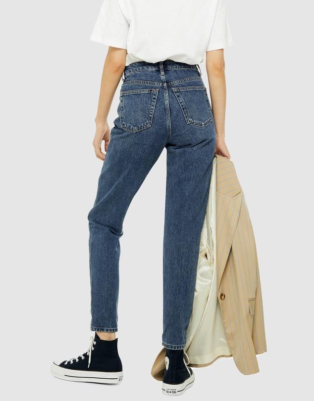Women PETITE Mom Jeans