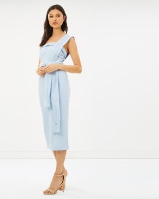 DELPHINE – Revolt Dress Blue Stripe
