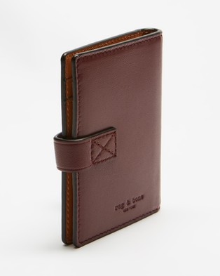 rag & bone Passenger Cardcase - Wallets (Winterberry)