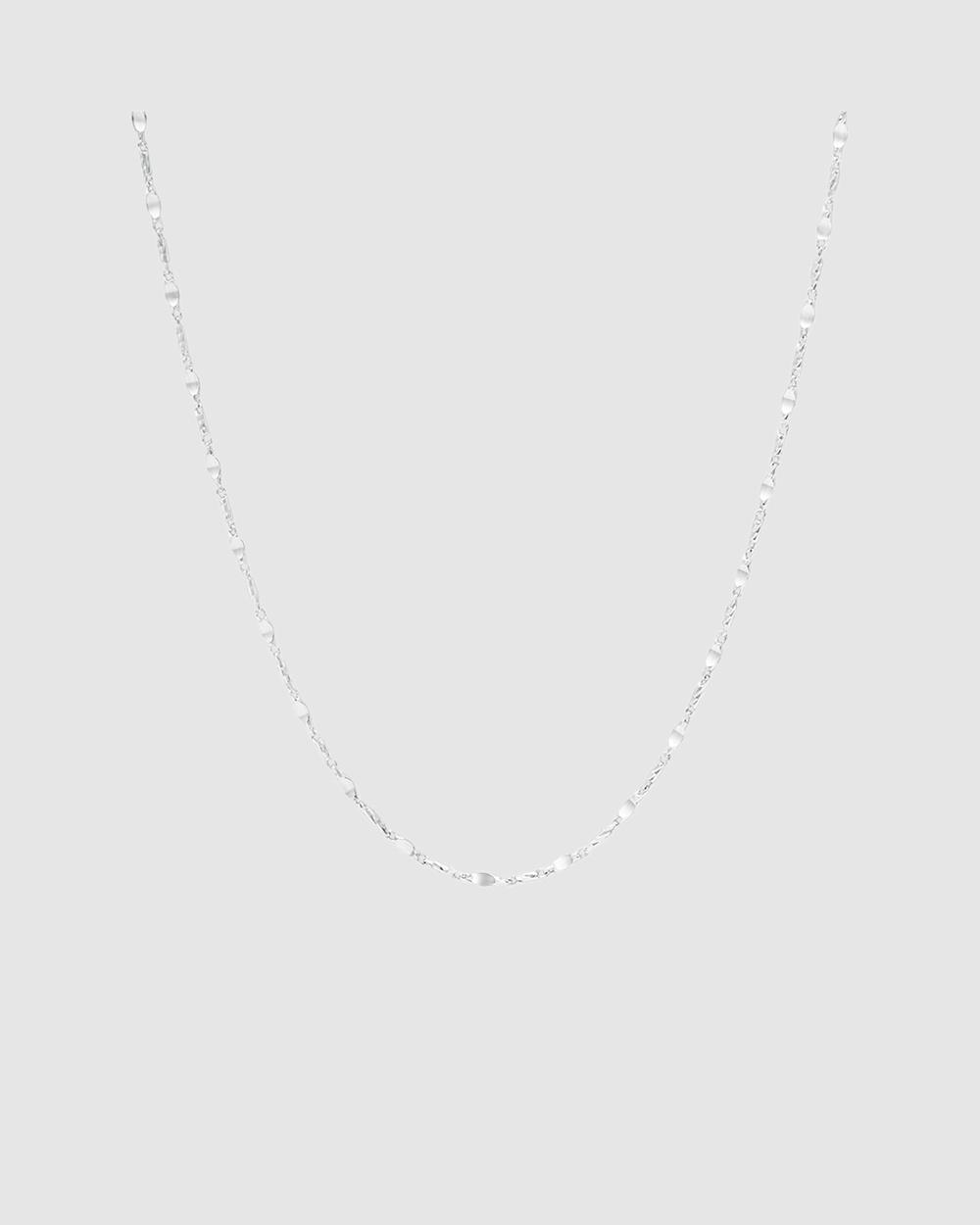 Michael Hill 60cm Fancy Chain in Sterling Silver Jewellery Silver