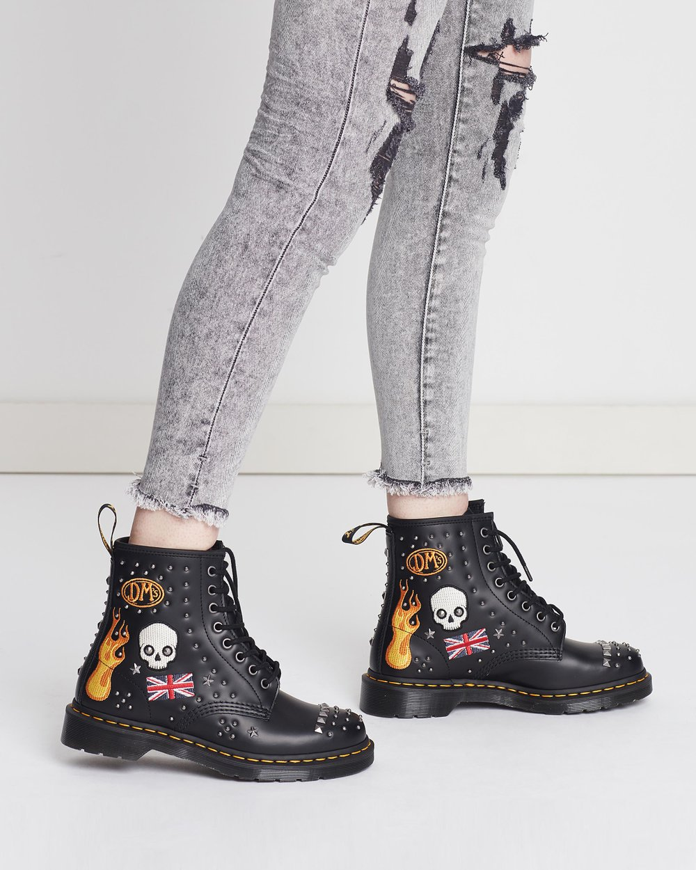 711483b8aa0 1460 Rockabilly 8-Eye Boots - Women s by Dr Martens Online