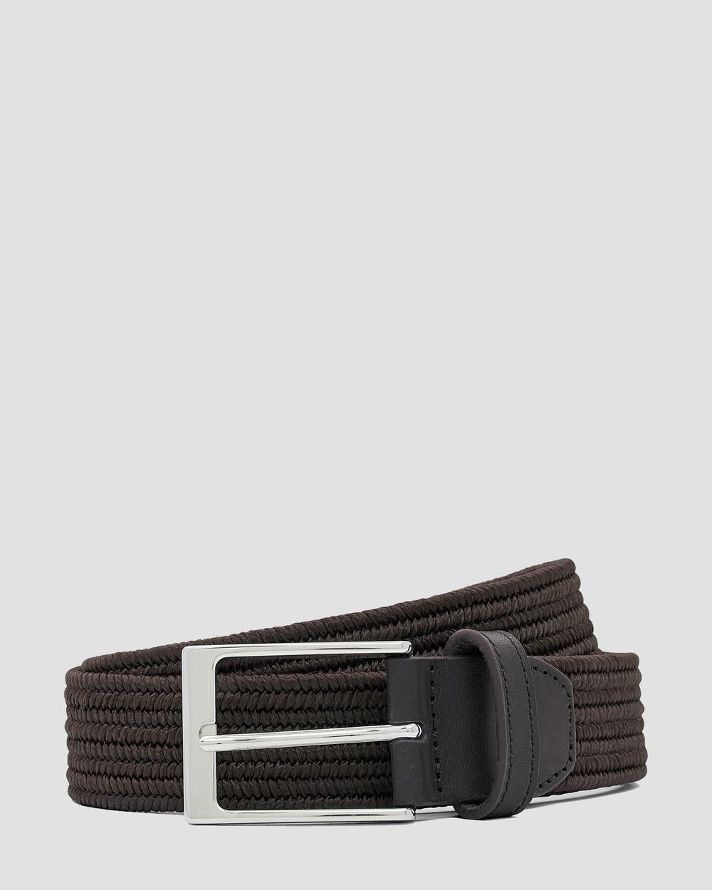 Aquila Pesci Belt Belts Brown