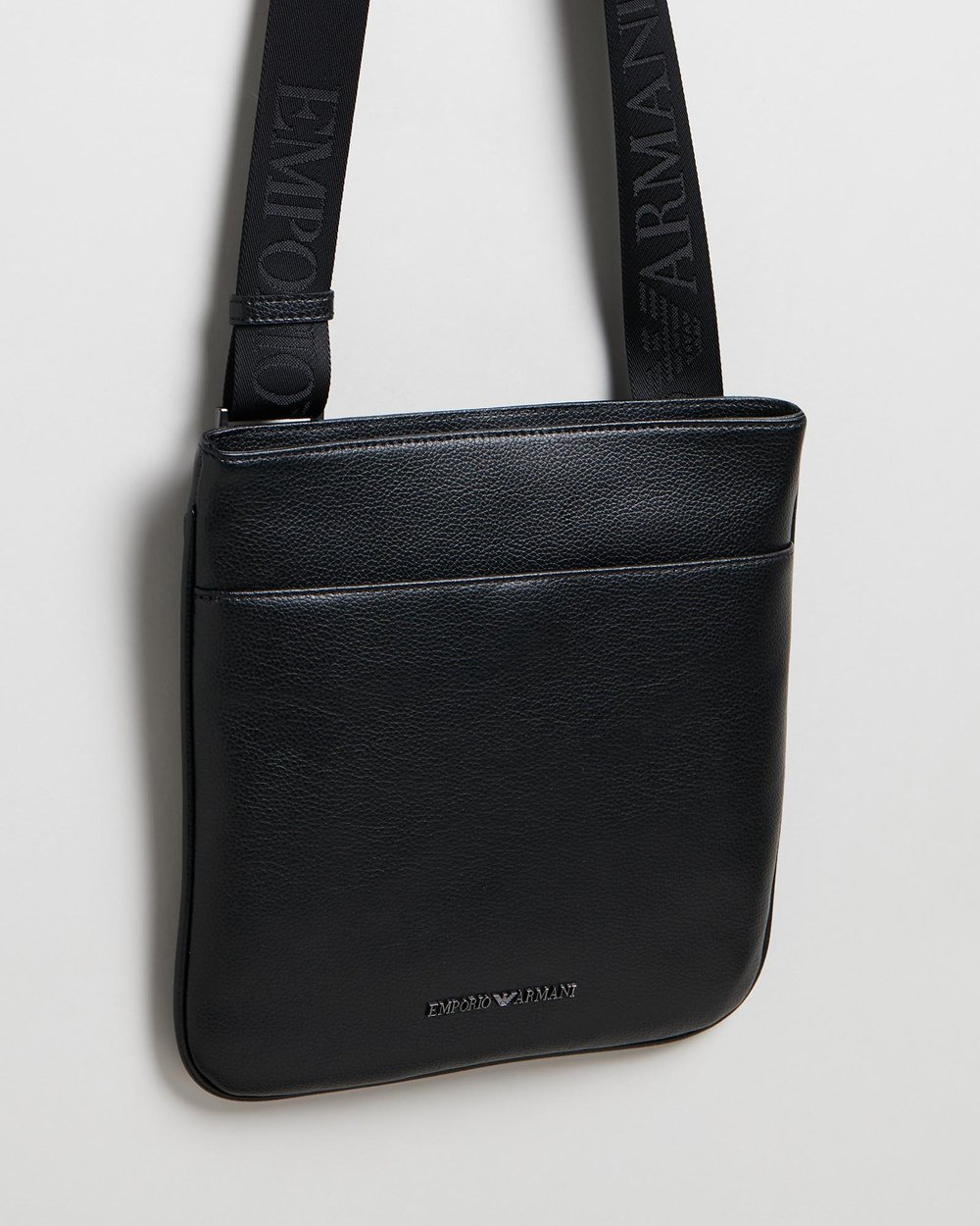 8dc7c81f3c9c Cross-Body Vitello Bottalato Messenger Bag by Emporio Armani Online ...
