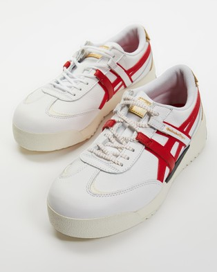 Onitsuka Tiger Delegation Ex   Unisex - Sneakers (White / Classic Red)