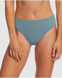 Roxy - Womens Seas The Day Mid Waist Separate Bikini Pant