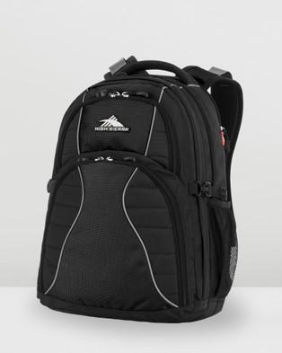 High Sierra Reverb RFID Laptop Backpack - Backpacks (Black)