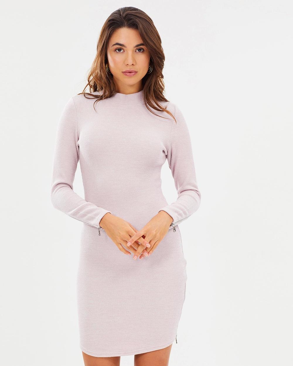 Fresh Soul Manhattan Dress Bodycon Dresses Blush Manhattan Dress