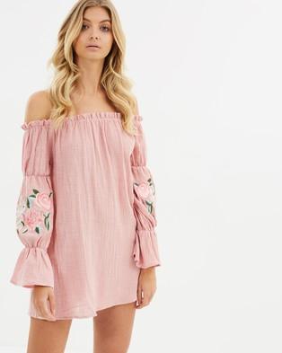 Girl & The Sun – Summer Song Dress Pink