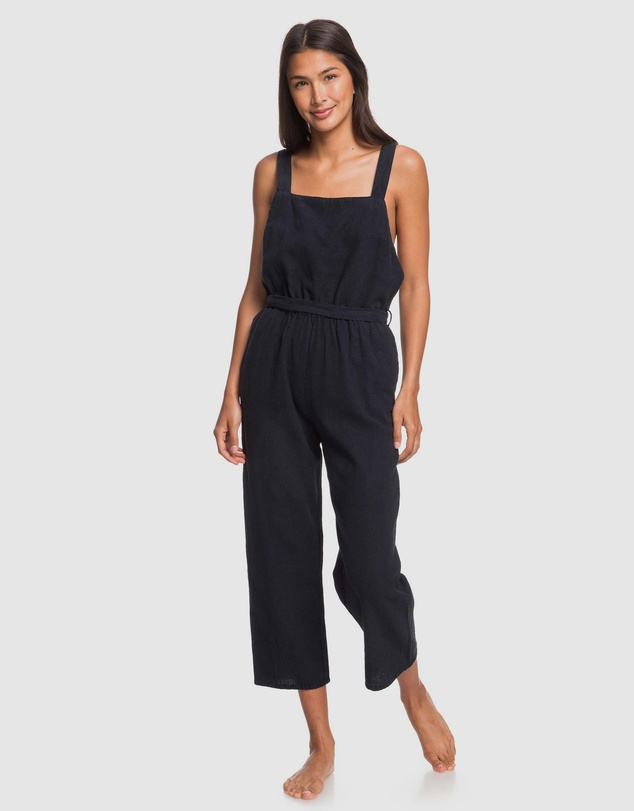 Roxy - Womens Love Love Love Linen Jumpsuit