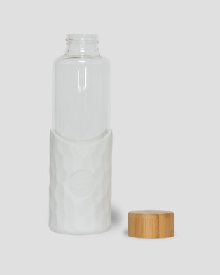 Think Cups Think Bottle - Travel and Luggage (White)