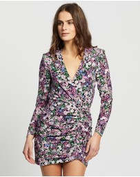 Bec + Bridge - Anais Wrap Mini Dress