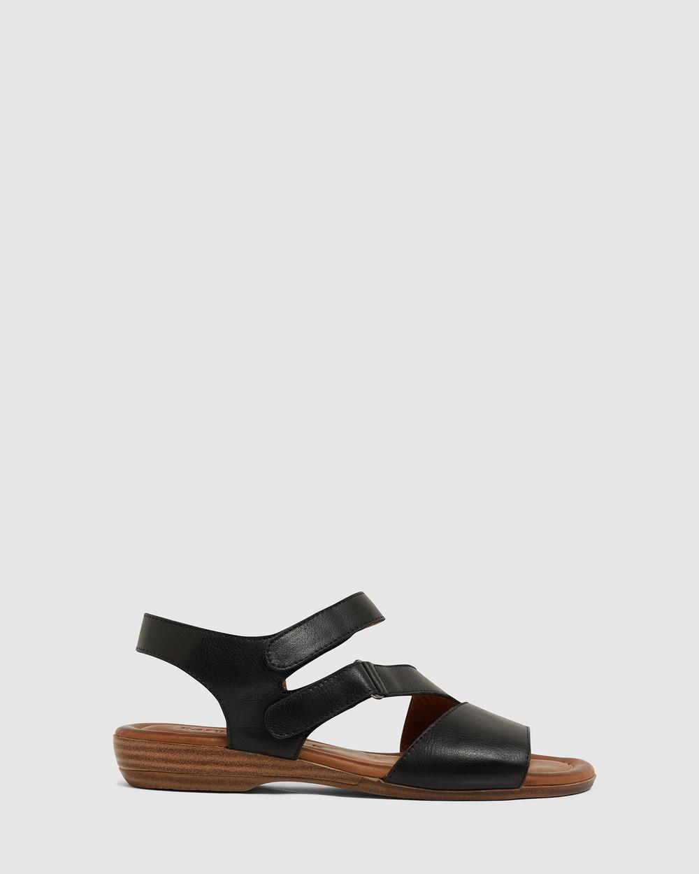 Easy Steps Kenya Sandals BLACK