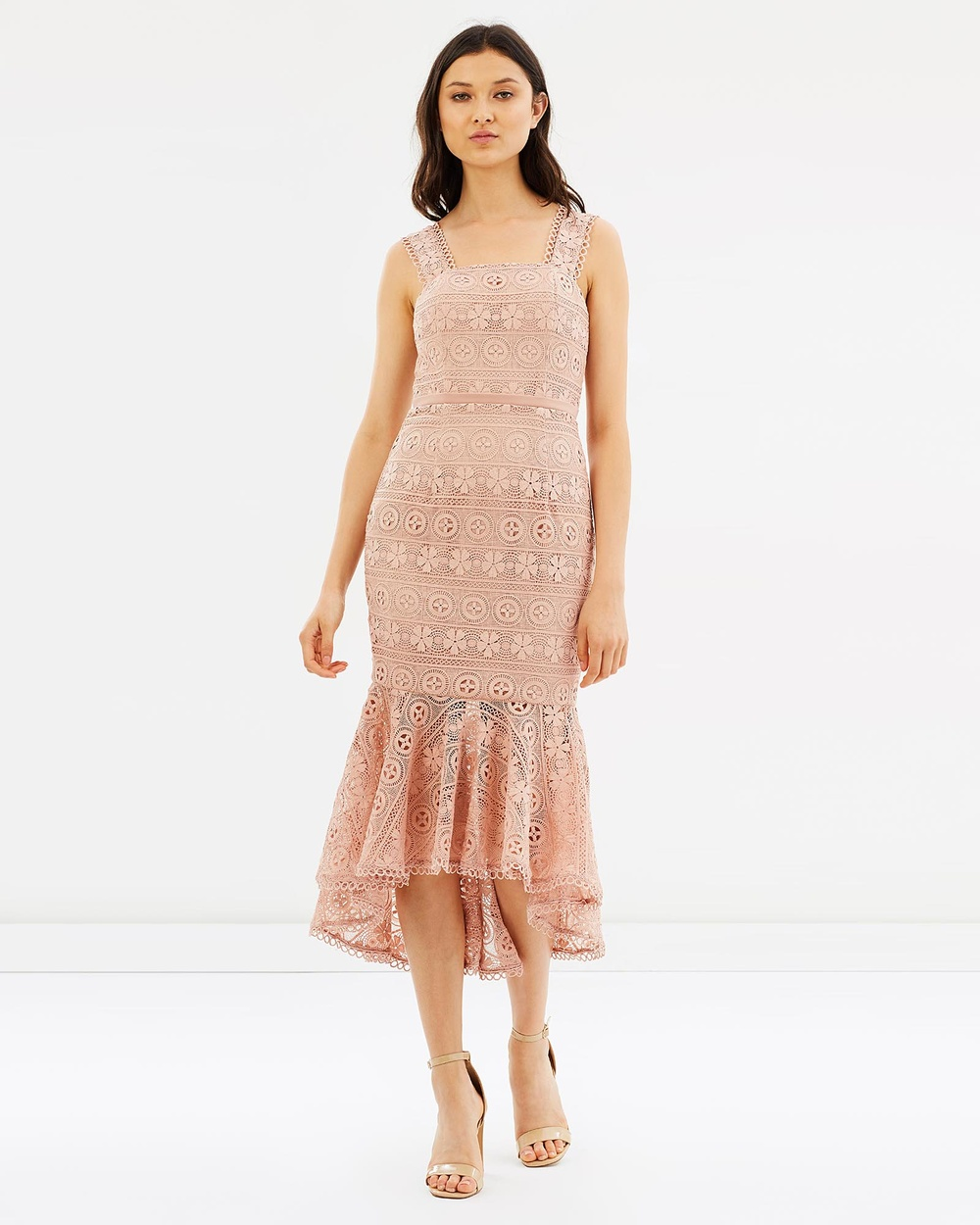 Love Honor Katerina Lace Dress Dresses Blush Katerina Lace Dress