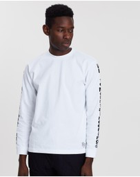 White Mountaineering - WM Logo Printed Long Sleeve Tee