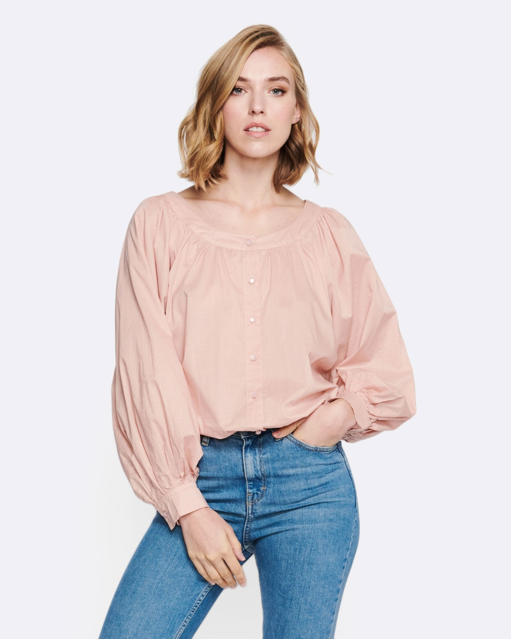 MVN Dawn To Dusk Shirt Tops pink Dawn To Dusk Shirt