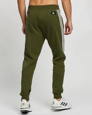 adidas Performance 3 Stripes Sweat Pants - Track Pants (Wild Pine)