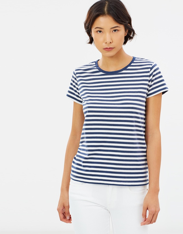 sale retailer 955e6 9397c Striped Cotton Jersey T-Shirt