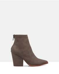 Beau Coops - Alice Suede Ankle Boots