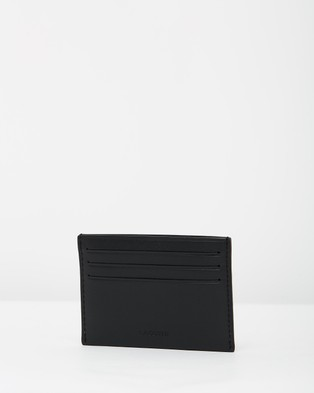 Lacoste FG Credit Card Holder - Wallets (Black)