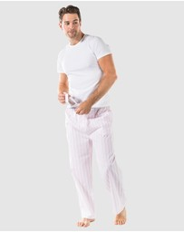 Sant And Abel - Pink Braddock PJ Pants