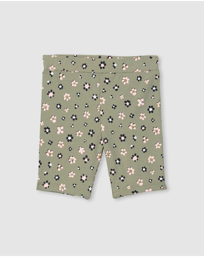 Milky - Daisy Floral Bike Shorts - Kids