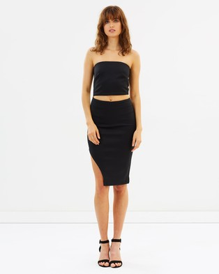 Maurie & Eve – What She's Having Dress – Bodycon Dresses (Black)