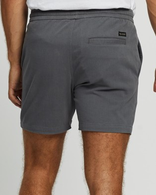 Staple Superior Organic Organic Pull On Shorts - Shorts (Storm Blue)