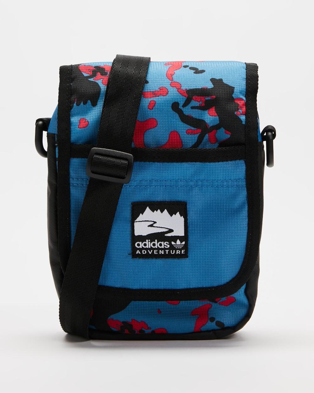 adidas Originals Adventure Flap Bag Bags Focus Blue, Core Pink & Black