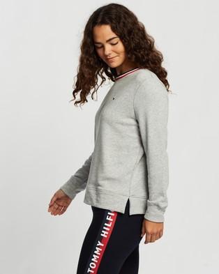 Tommy Hilfiger Essential Crew Neck Sweatshirt - Sweats (Light Grey Heather)