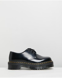 Dr Martens - Unisex 1461 Quad Polished Smooth Shoes