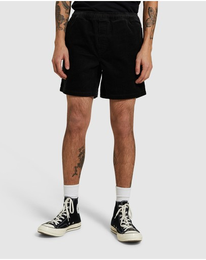 Insight Bedford Cord Shorts Black