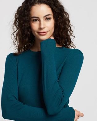 Sportscraft Hayley Cotton Modal Tee - T-Shirts & Singlets (green)