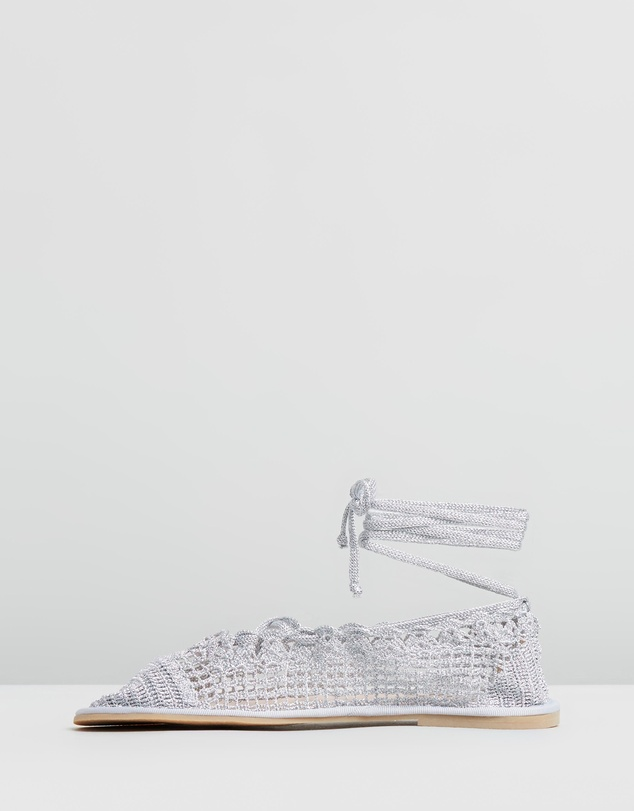 AlexaChung - Crochet Travel Pumps