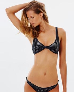 ACACIA Swimwear – Cusco Bikini Bottoms – Bikini Bottoms (Shadow Mesh)