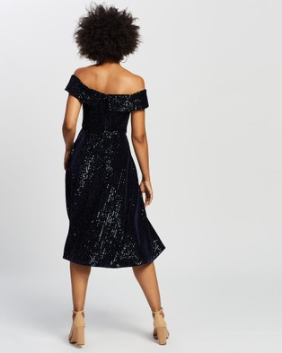 Review Midnight Glimmer Dress - Dresses (Navy)