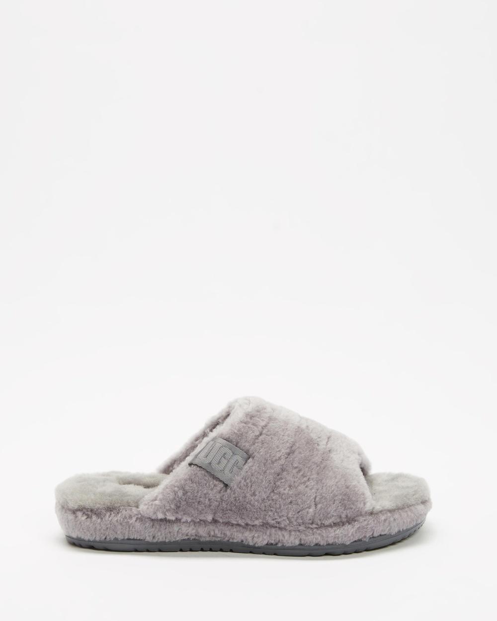 UGG Fluff You Slides Men's Slippers & Accessories Metal