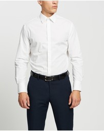 Van Heusen - Euro Tailored Fit Solid Shirt
