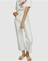 Apero Label - Abbey Denim Crop Pants