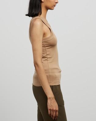 C&M CAMILLA AND MARC - Park Tank T-Shirts & Singlets (Sand)