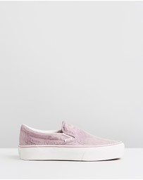 Vans - Classic Slip-On Platforms - Women's