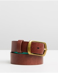 Scotch & Soda - Thick Leather Belt