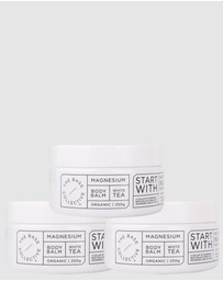 The Base Collective - White Tea Balm Trio