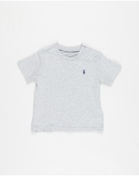 Polo Ralph Lauren - Snap Button Crew Neck Tee - Babies