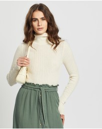 Vero Moda - Jennifer LS High Neck Knit