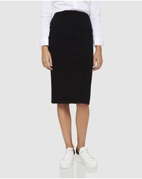 Oxford - Lottie Knitted Pencil Skirt