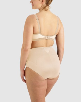 Miraclesuit Shapewear Adjust Fit Waistline Brief PLUS - Lingerie (Nude)