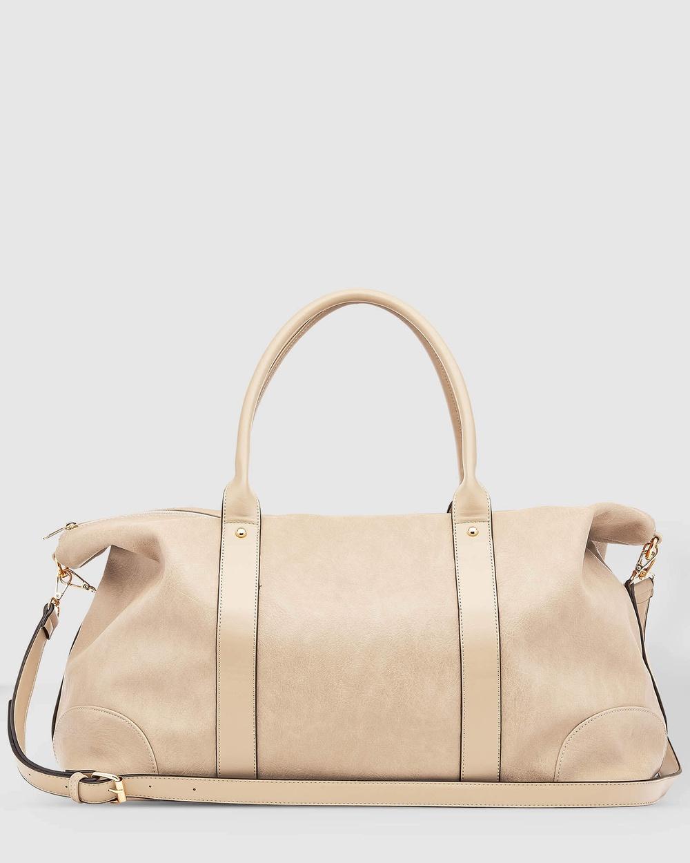 Louenhide Alexis Weekender Bag Bags Coffee Australia