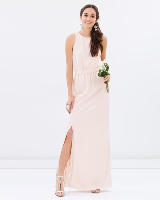 Atmos & Here – Ava Maxi Dress – Bridesmaid Dresses (Champagne)